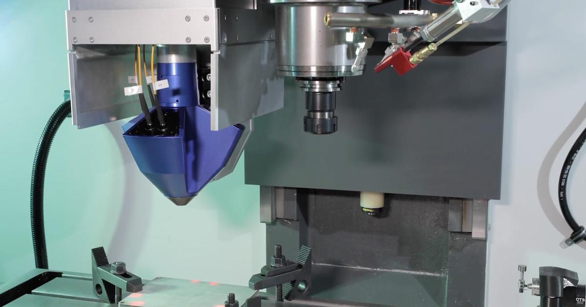 Meltio Engine transforms any CNC machine into a hybrid 3D print system