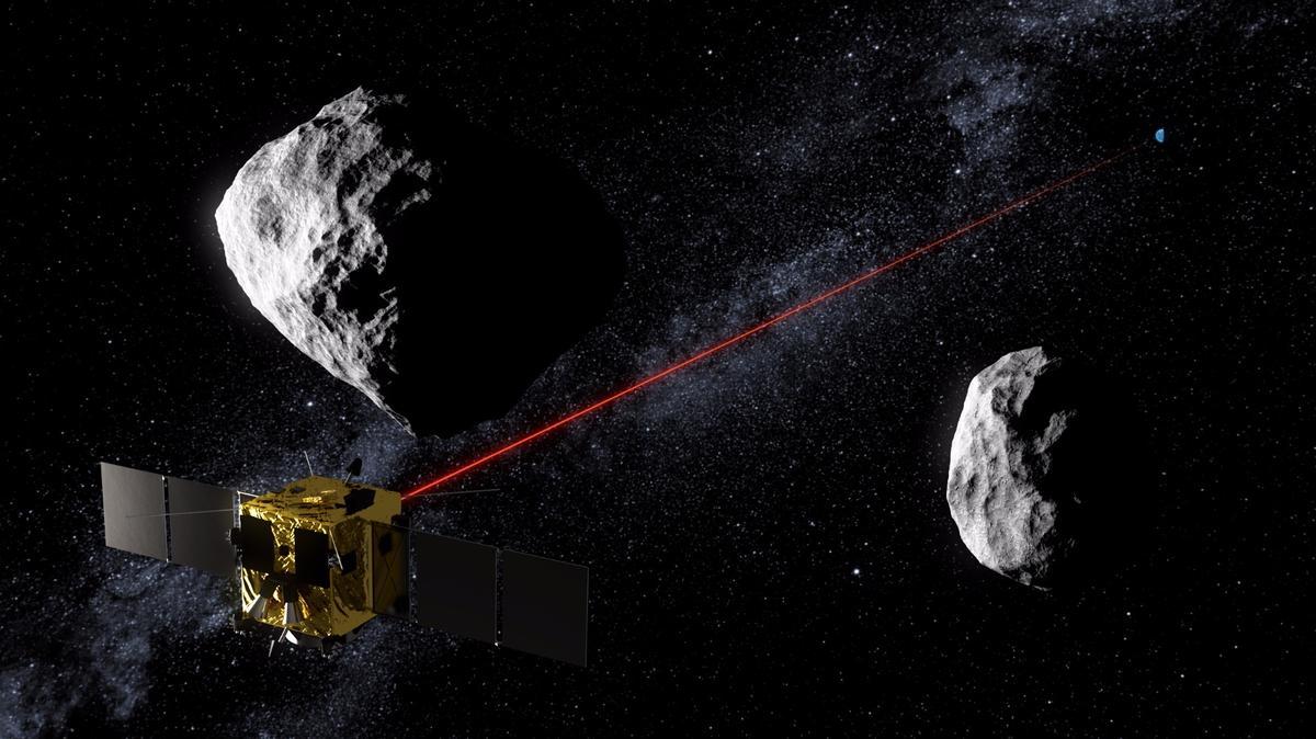ESA's Asteroid Impact Mission concept