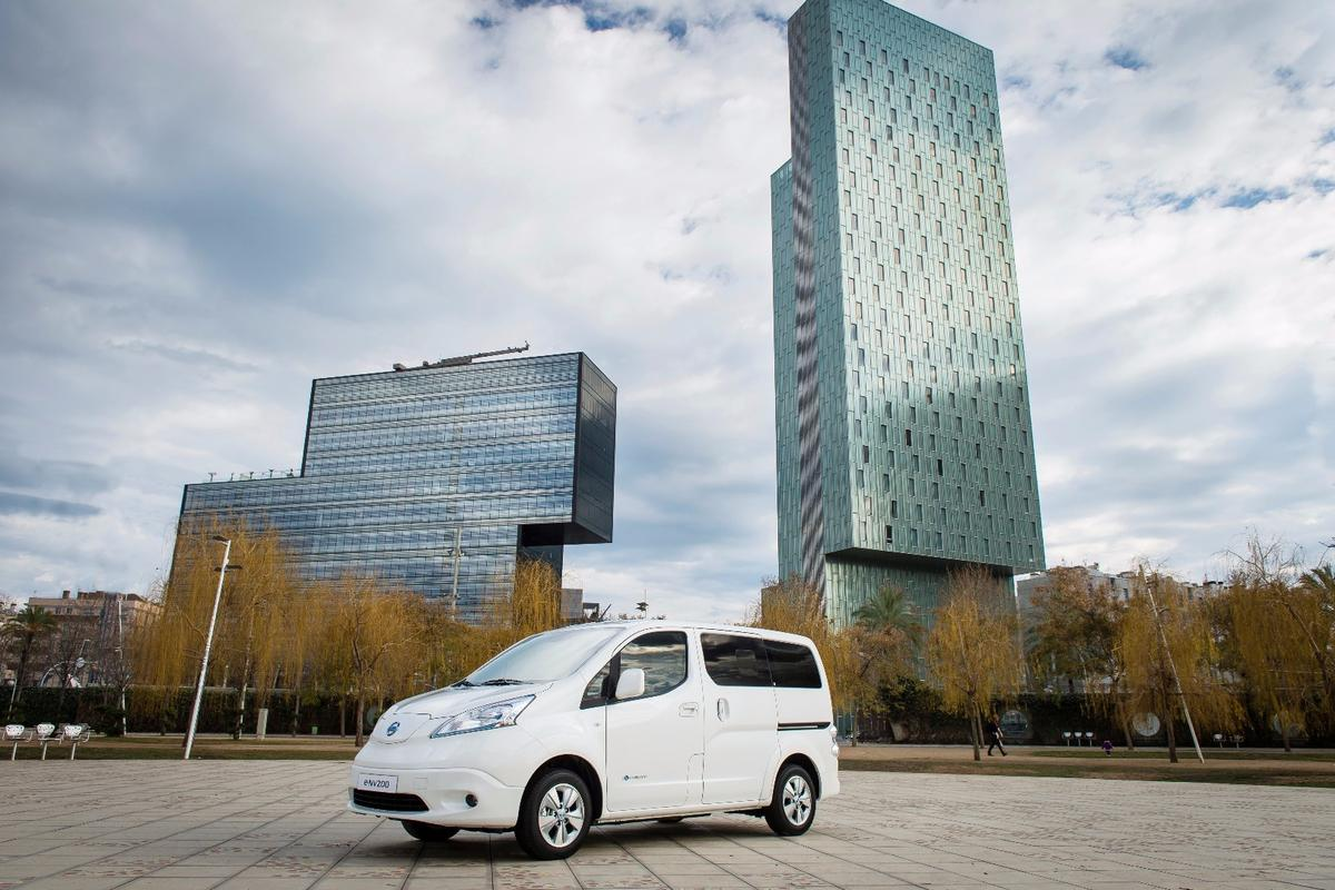The new Nissan e-NV200 has a better range than before