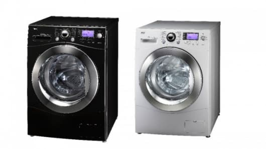 LG's 11kg washing machine is the largest domestic washer that fits a standard 24-inch cabinet