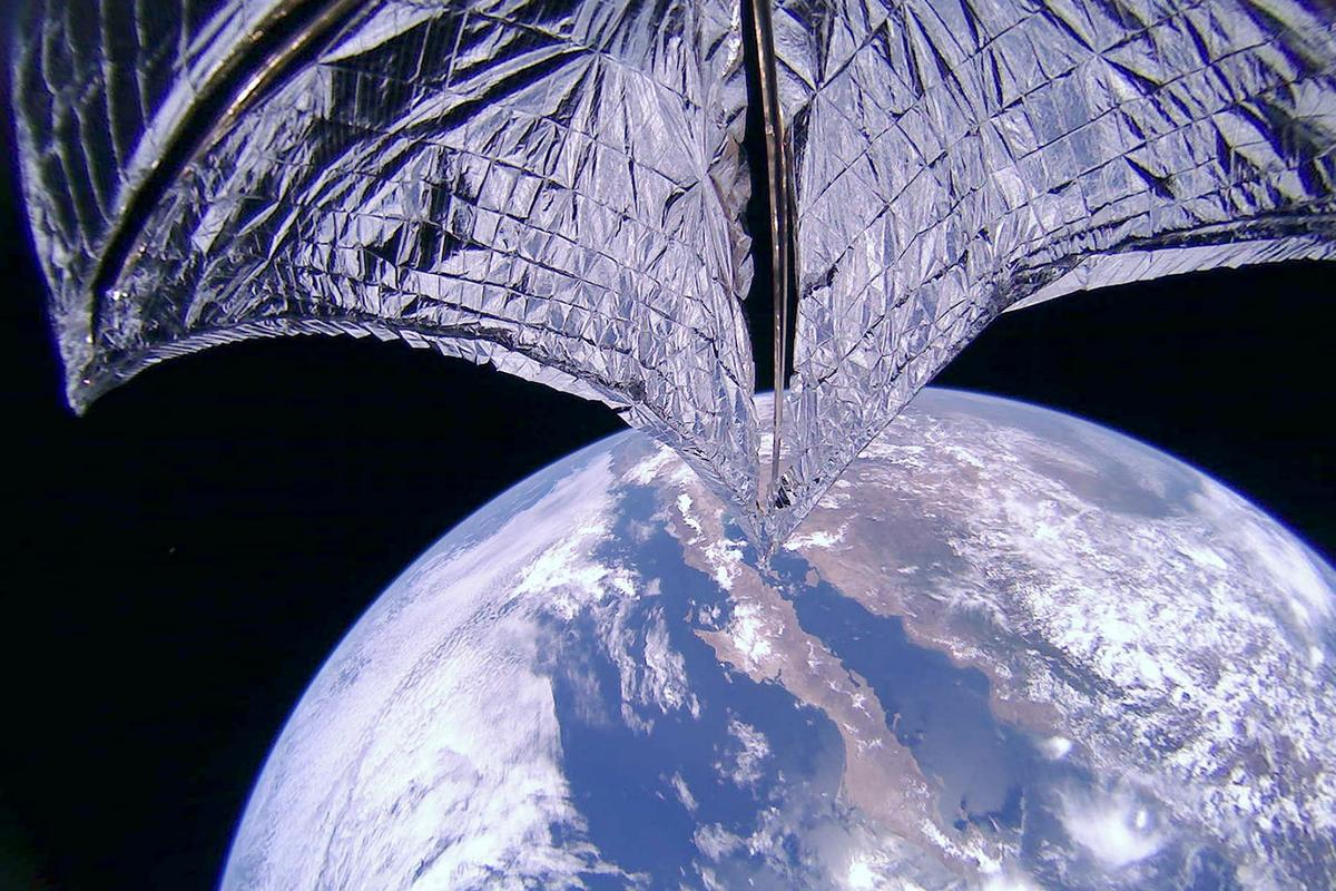 The LightSail 2 solar sail