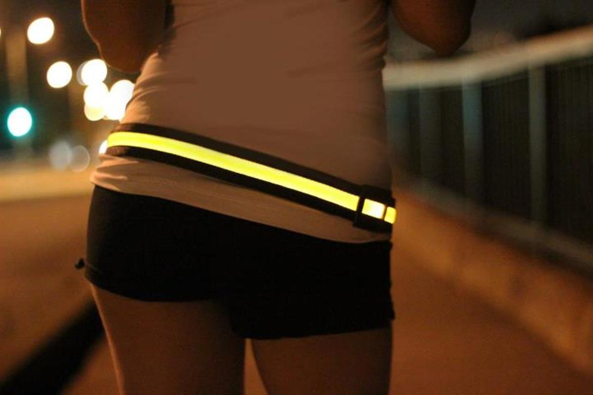 The Halo comes in your choice of yellow, green, red or blue