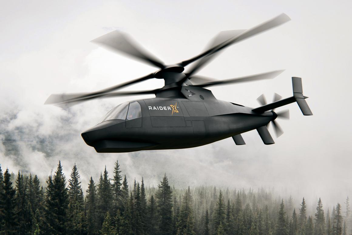 Sikorsky introduced RAIDER X as its entry to the U.S. Army's Future Attack Reconnaissance Aircraft (FARA) prototype competition
