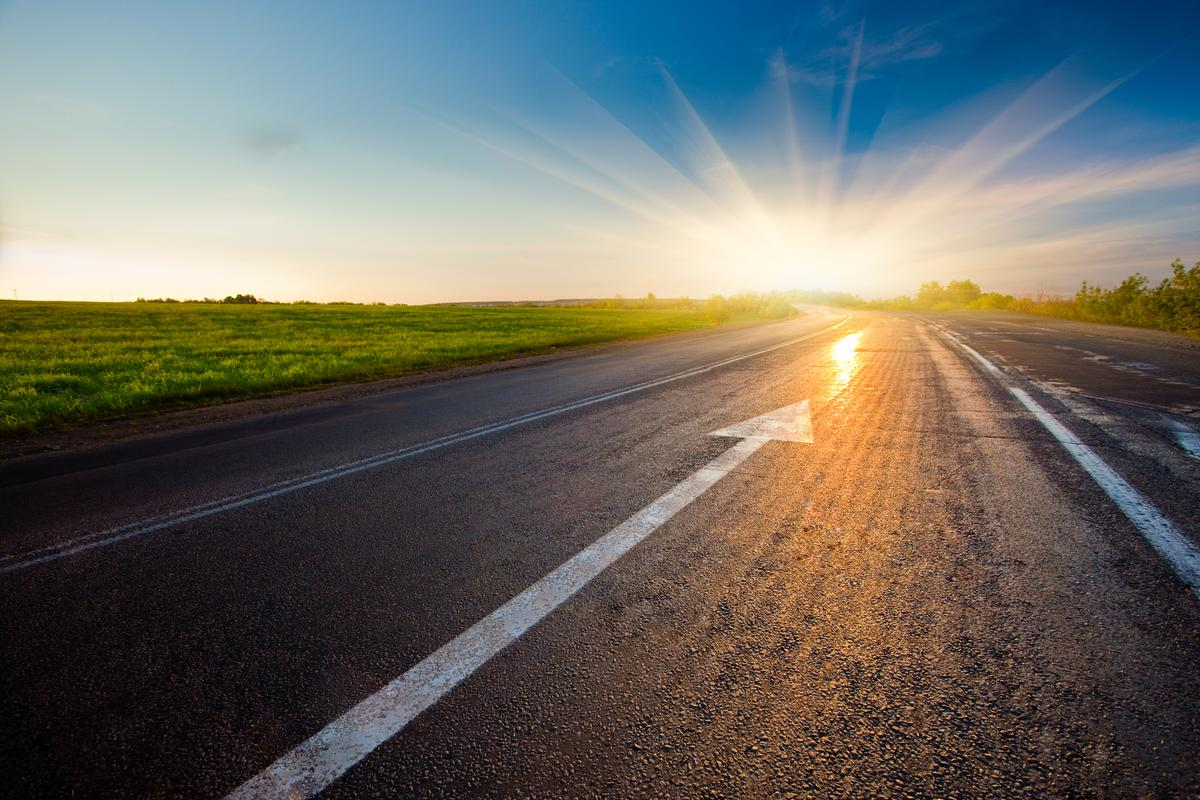 A newly developed material could make road construction a lot greener