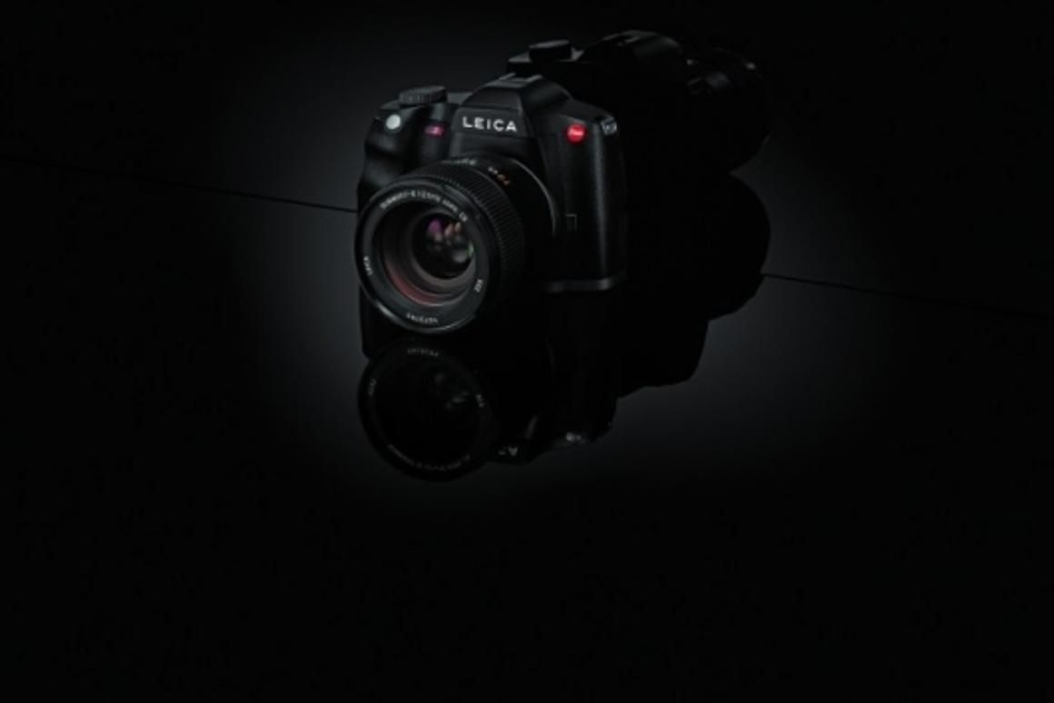 The Leica S2 professional camera