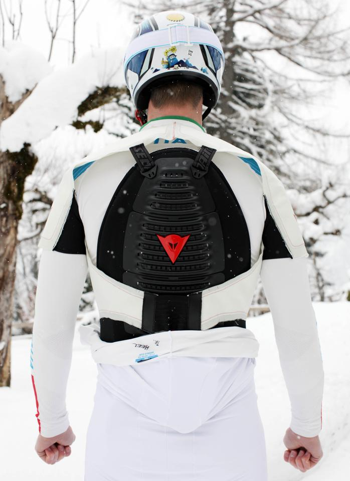 Dainese has announced that it is now putting the finishing touches on its wearable airbag system for downhill ski racers