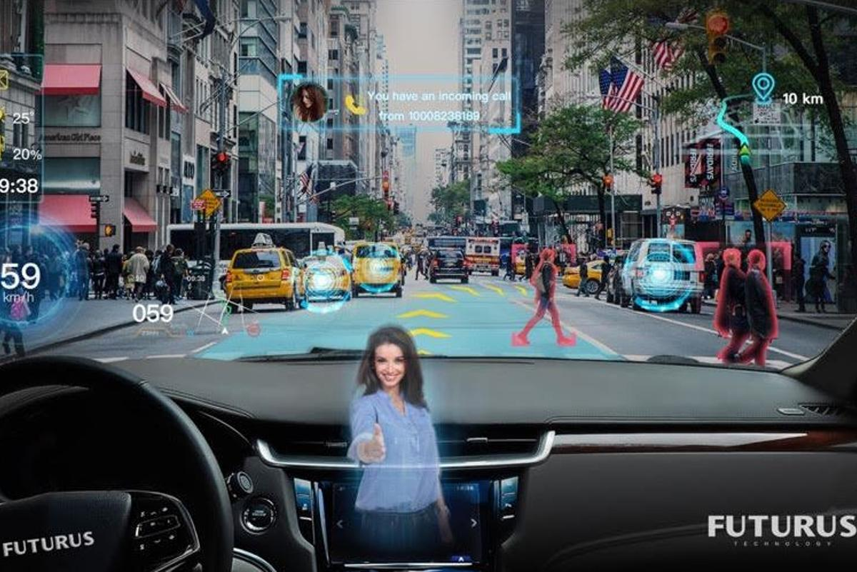 Futurus believes the cars of the near future will roll with all-singing, all-dancing augmented reality windscreens