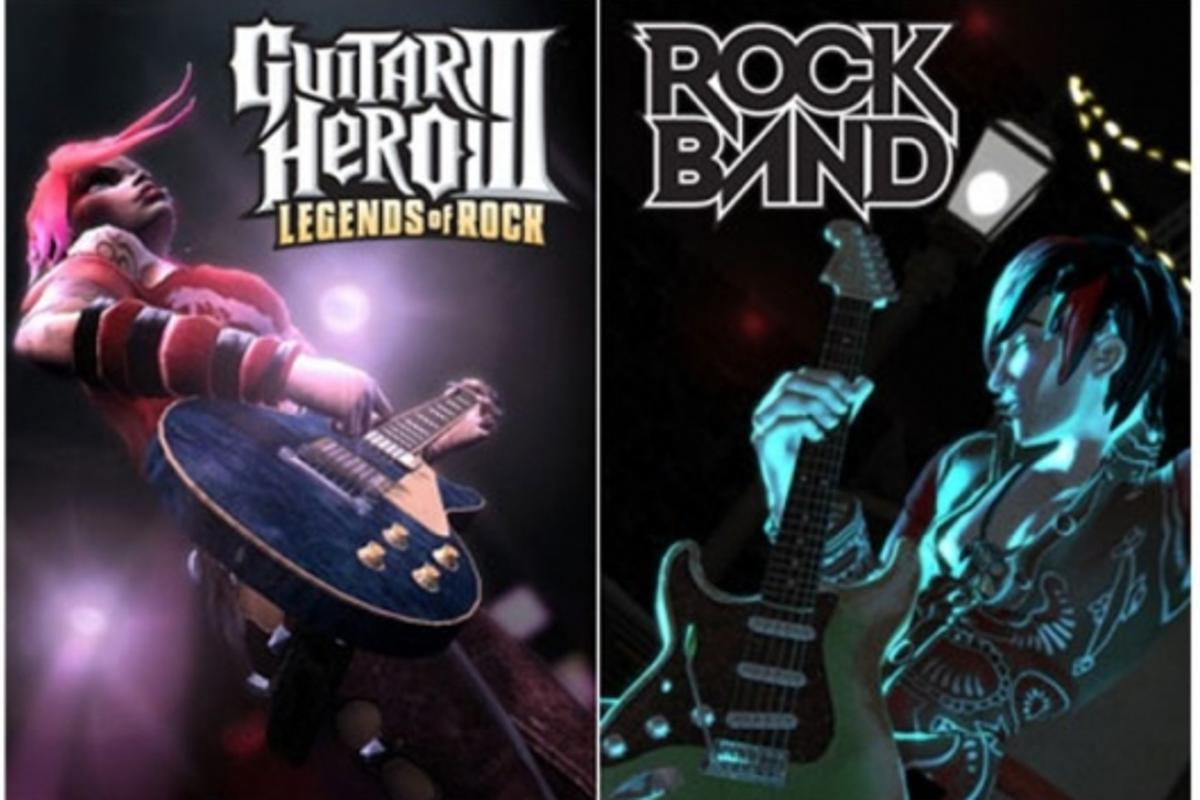 Guitar Hero and Rock Band peripherals set to make beautiful music together