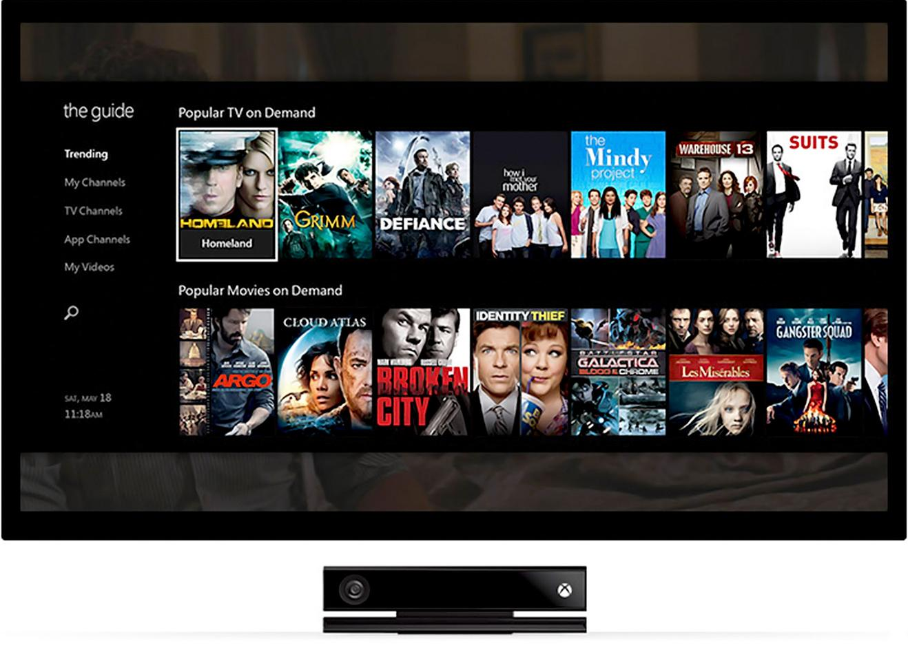 The Xbox One offers seamless integration between a variety of entertainment services