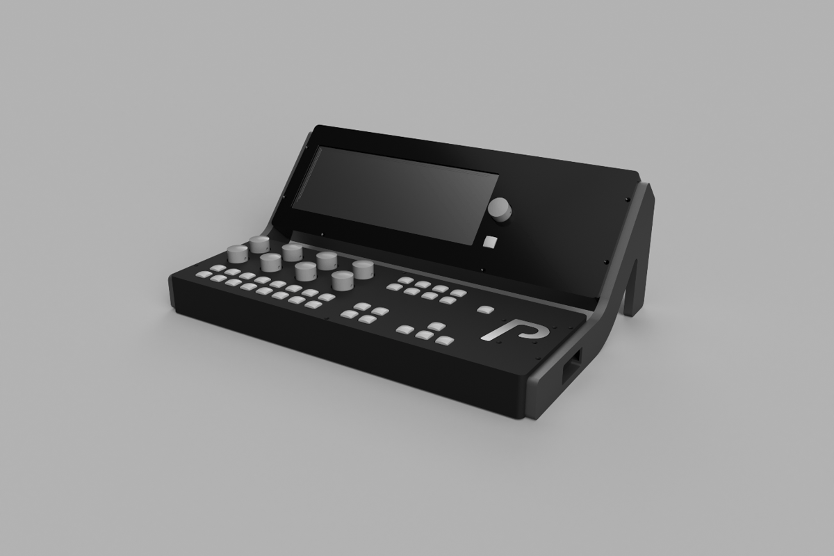 The Percussa Synthor System 8 modular synthesis setup is made up of a new Engine hardware synth, a Remote controller and base station and eight AudioCube smart controllers (not shown in the render)
