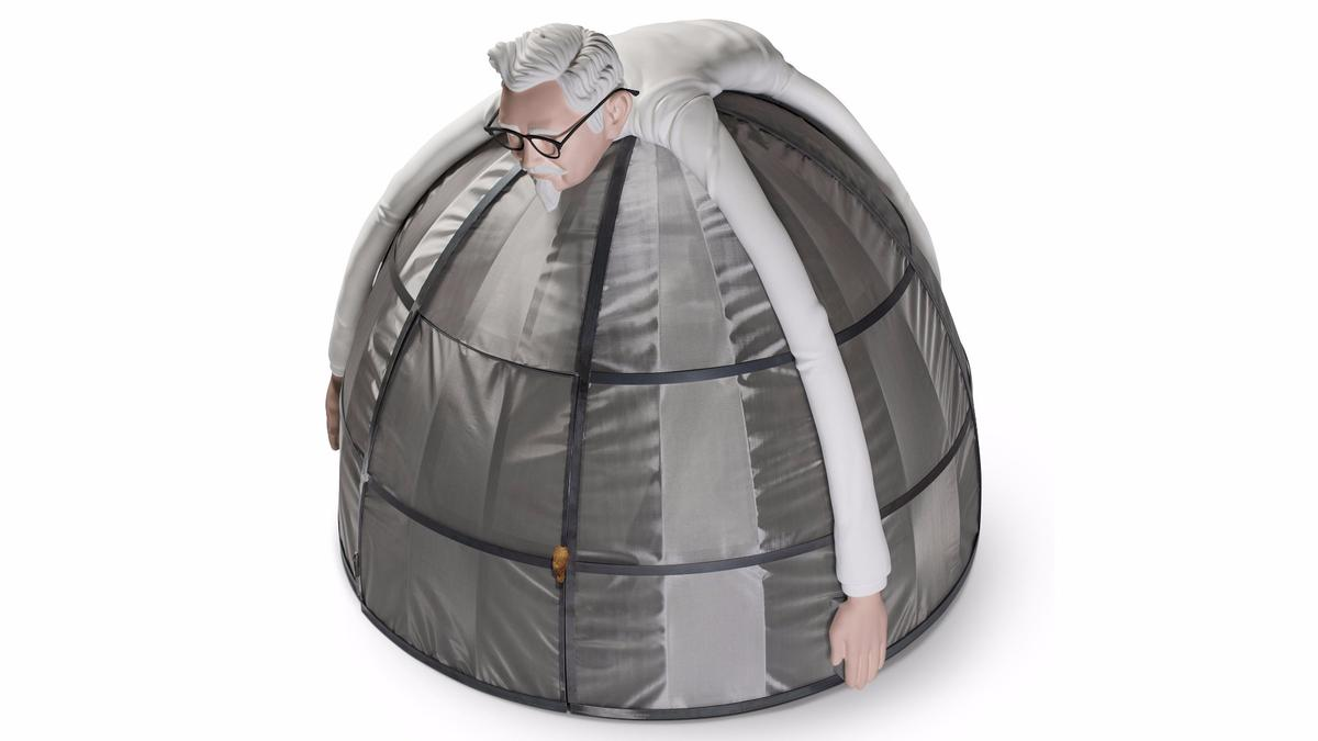 KFC's Internet Escape Pod is a Faraday cage turned marketing exercise