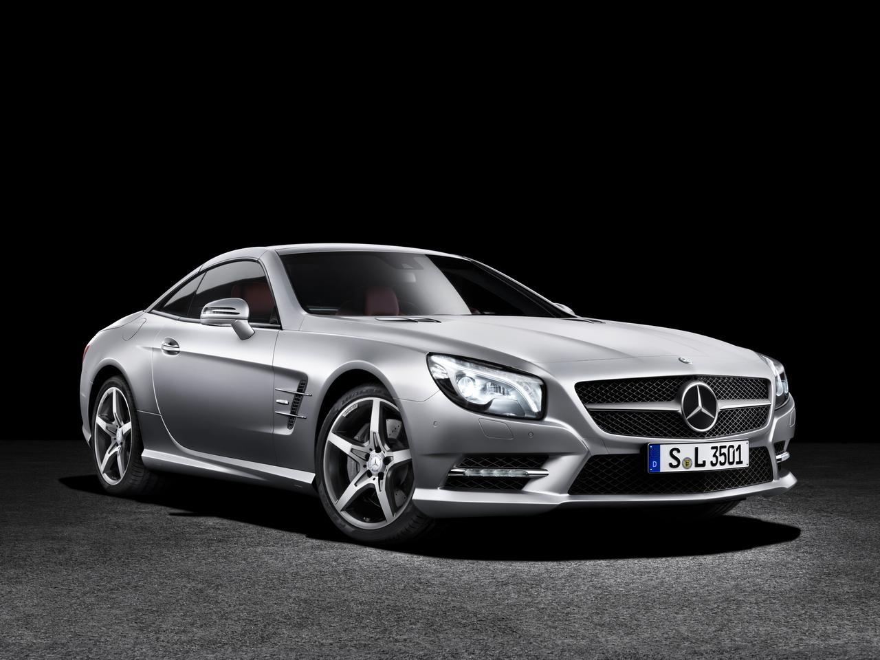 The SL 550 (Photo: Mercedes-Benz)