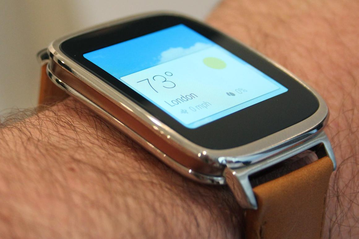 The Asus ZenWatch is a well built, premium wearable with a lot going for it (Photo: Chris Wood/Gizmag.com)