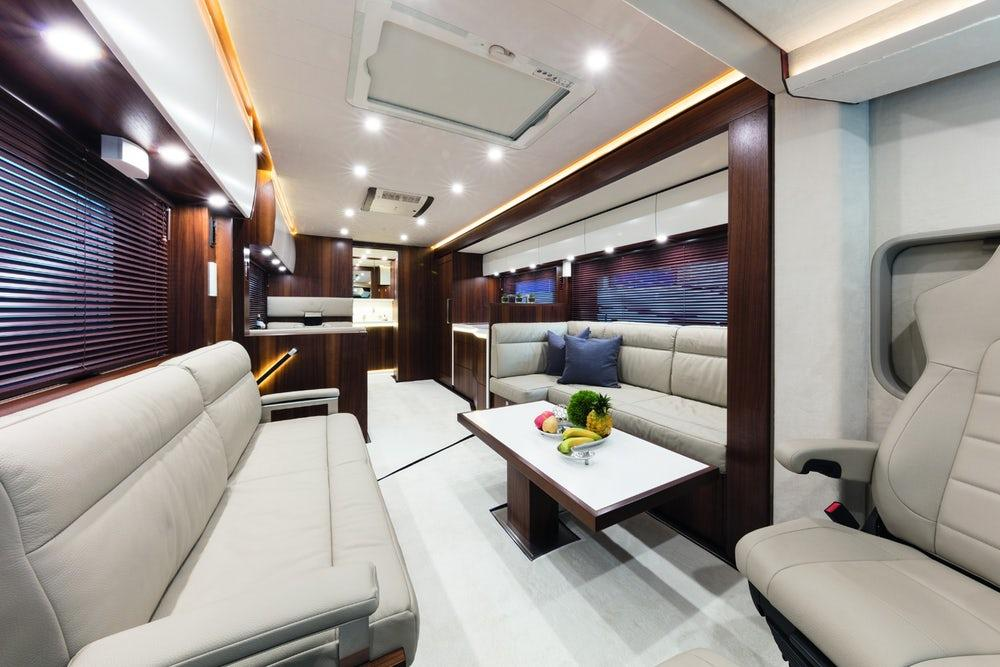 The Signature 1200's living quarters are guaranteed to be luxurious