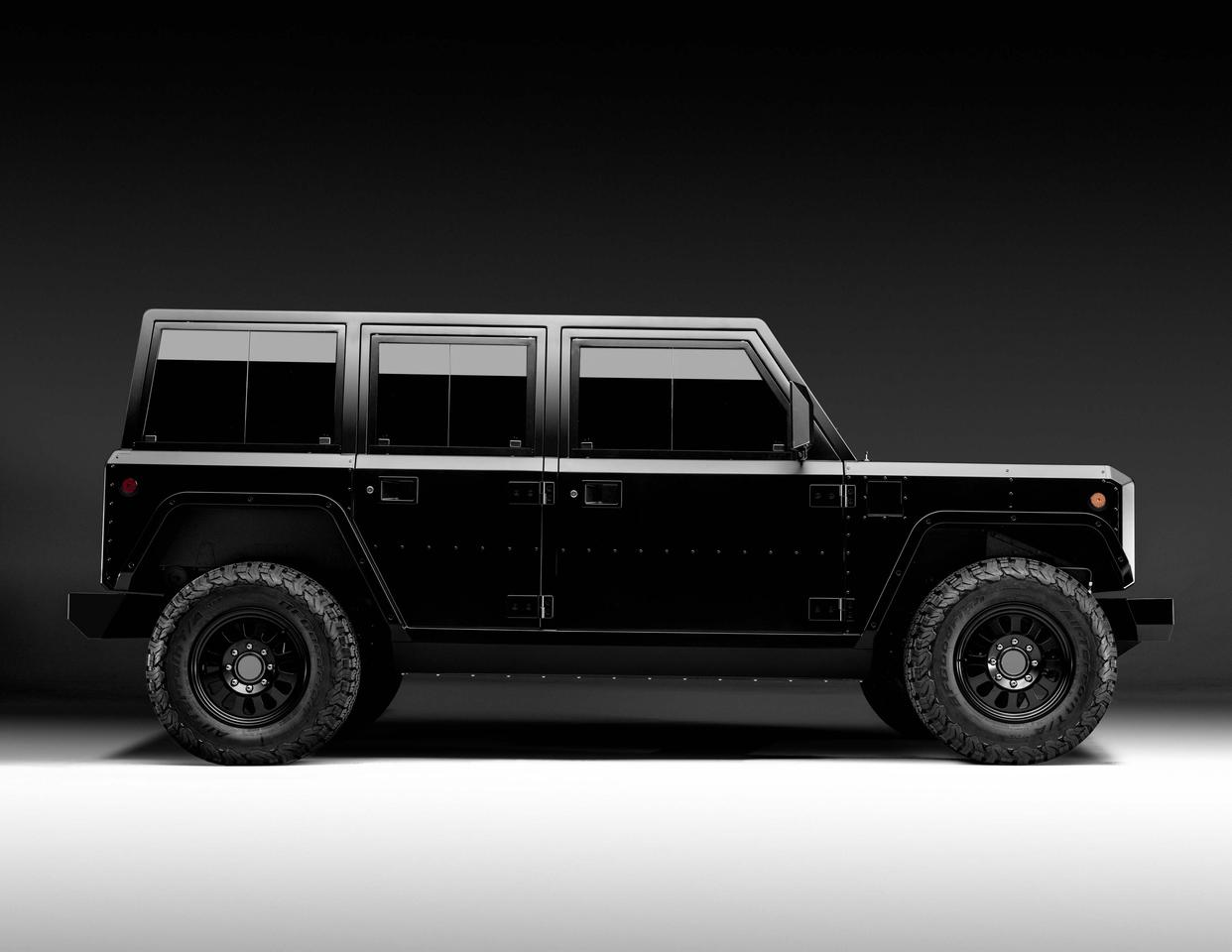 The B1 sport utility truck: built for serious hard work