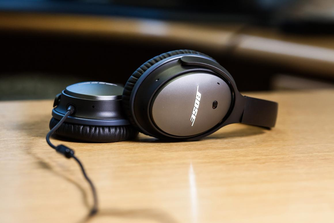 Bose's QuietComfort 25s headphones boast fantastic noise-cancelling and high quality audio