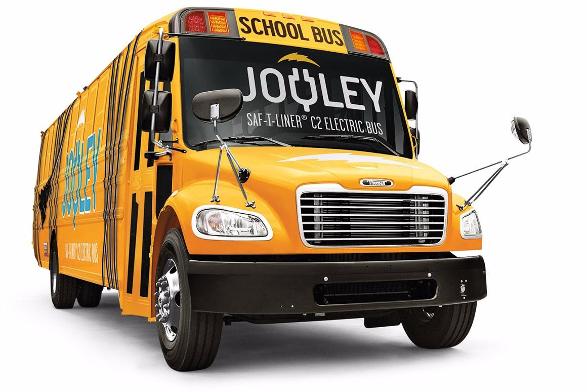 Thomas Built Buses >> Daimler Gets On Board Shift To Electric School Buses