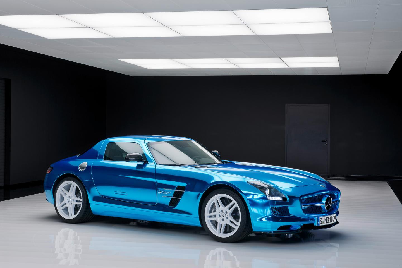 The Mercedes-Benz SLS AMG Coupé Electric Drive (Image: Mercedes-Benz)