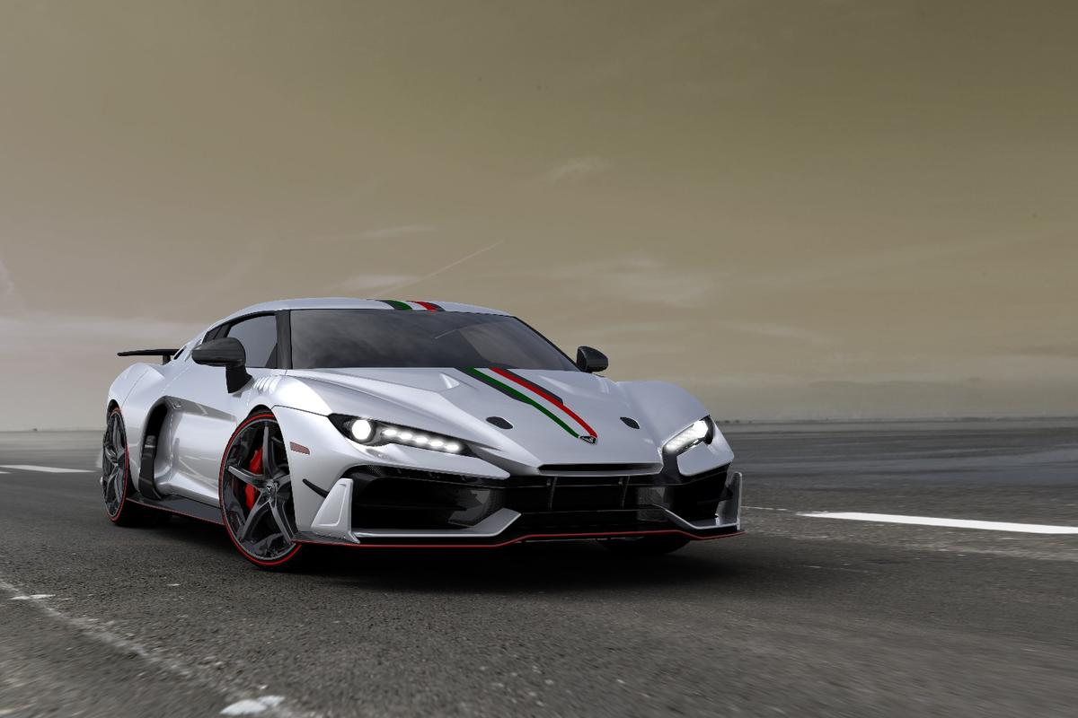 The limited-edition Italdesign will be presented at the Geneva Motor Show