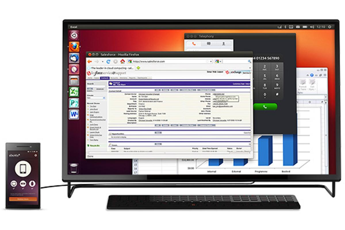 The Ubuntu Edge is a smartphone and desktop PC in one device