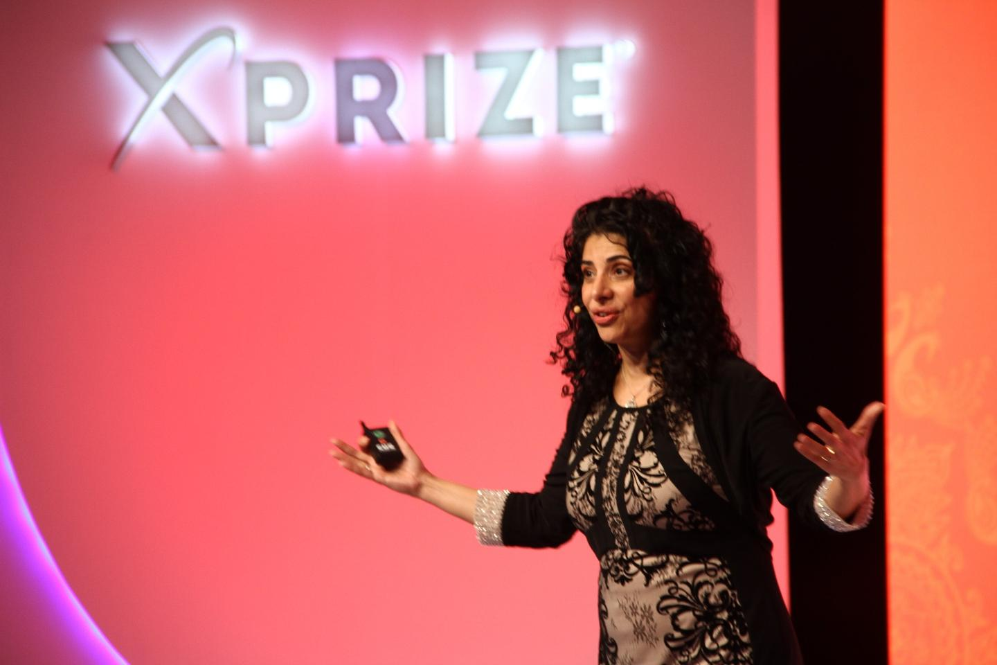 The Water Abundance XPrize is just the foundation's first step in tackling water security, according to Zenia Tata