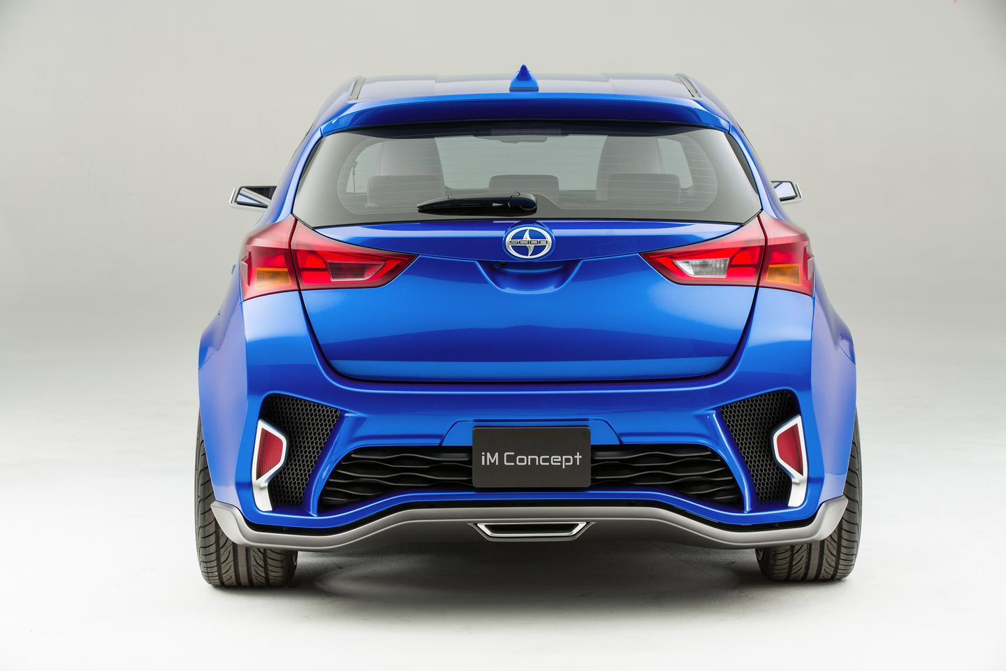 A rear view of the iM Concept