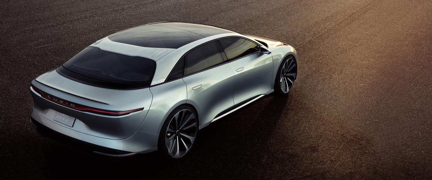 The new Lucid Motors Air EV