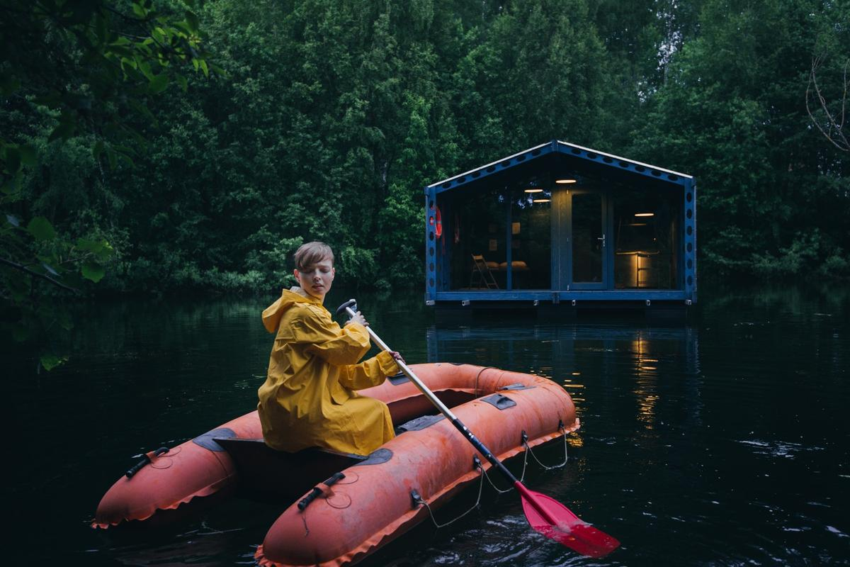 The off-grid floating micro-cabin is named DD16