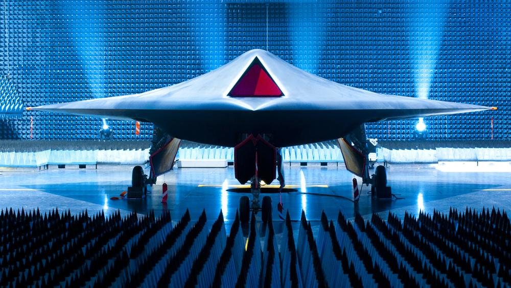 The unveiling of Taranis, July 2010