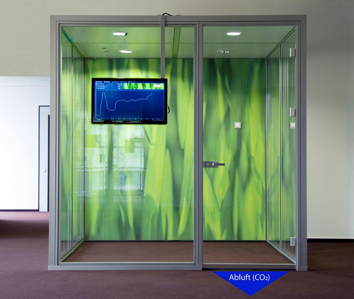 A demo setup of Fraunhofer's door seal system