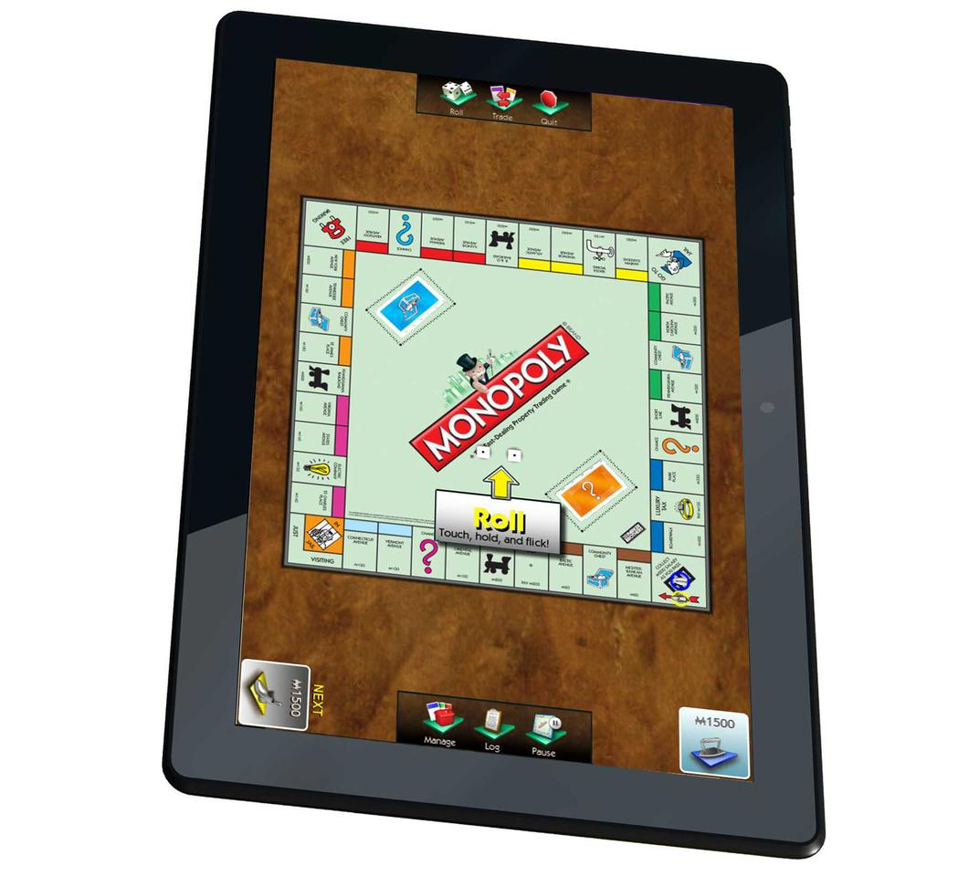 The FamilyPad runs on Android 4.0 with a range of pre-installed multi-player digital board games specially selected by ARCHOS