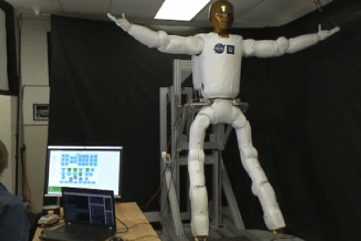 Robonaut 2 will receive its legs early next year (Image: NASA)