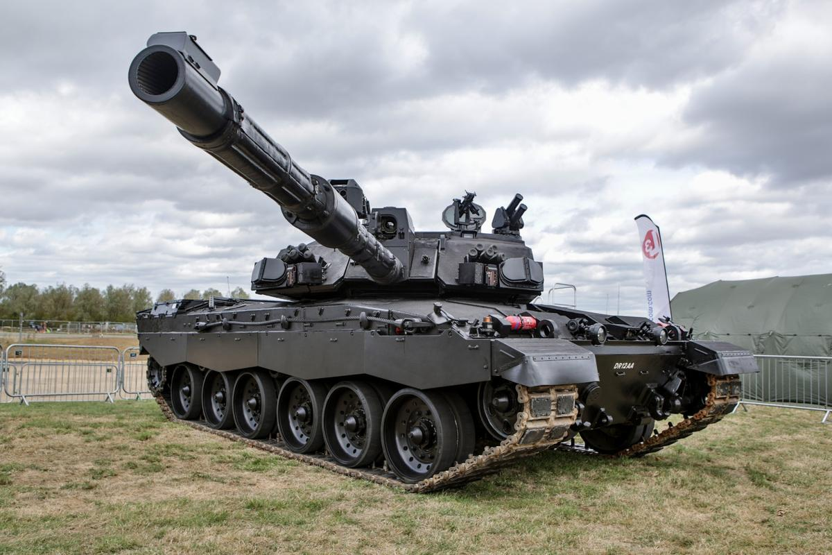 What might be Britain's tank of tomorrow has beenunveiled by BAE Systems