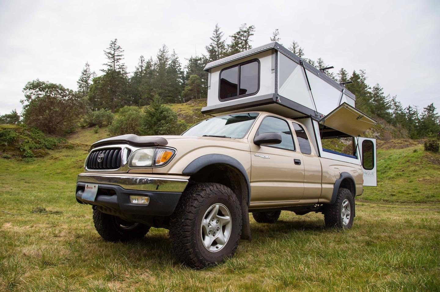 Hiatus offers its camper for both midsize and full-size pickup trucks