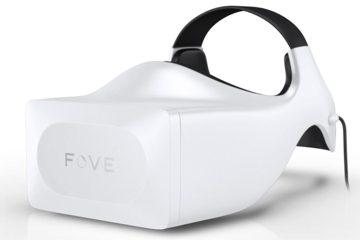 The Fove is a head mounted display that packs eye-tracking technology