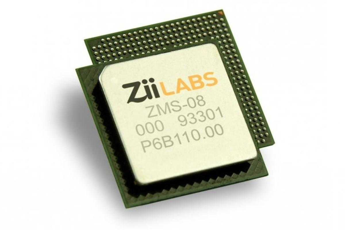 The ZMS-08 media processor from ZiiLabs offers full 1080p, Blu-ray quality playback on a low power chip