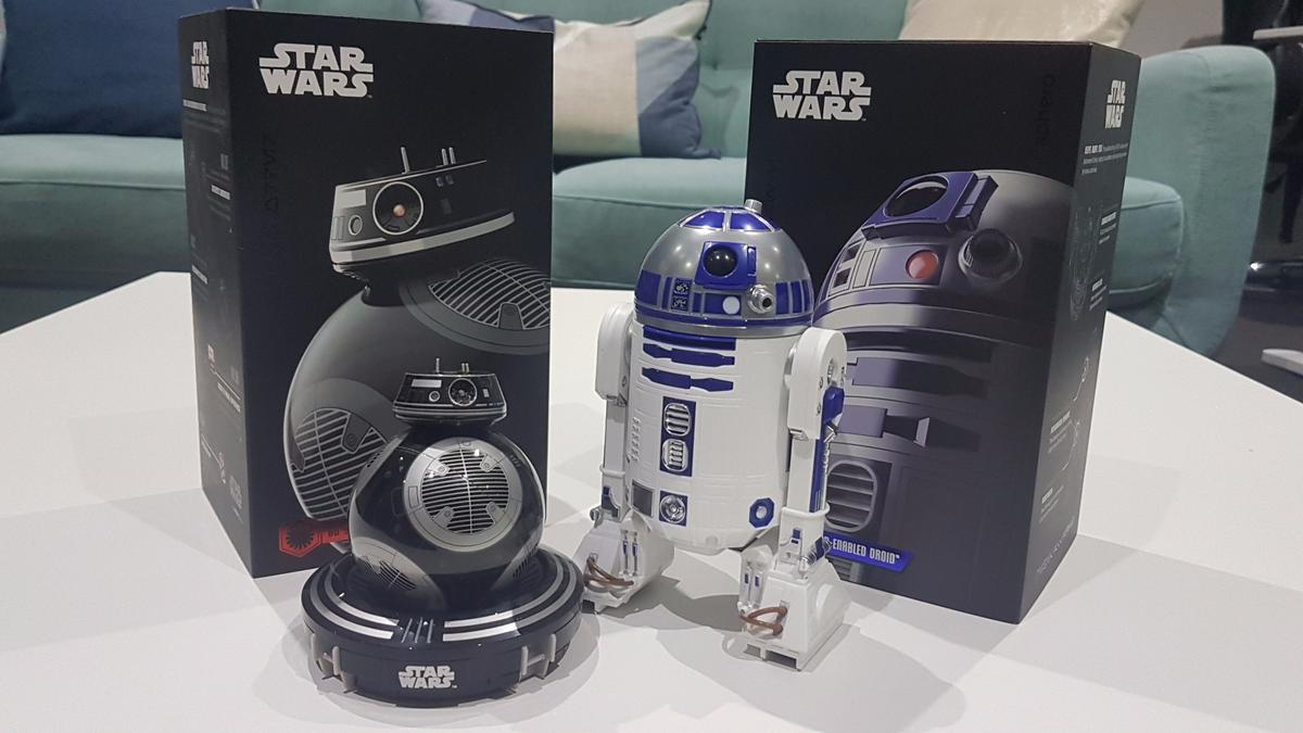 New Atlas goes hands-on with Sphero's new app-controlled Star Wars robots, BB-9E and R2-D2