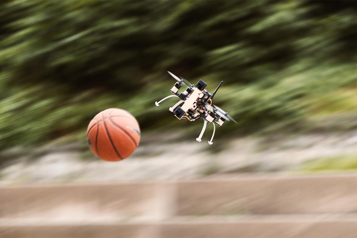 Researchers at the University of Zurich have developed a new system that lets drones dodge high-speed obstacles