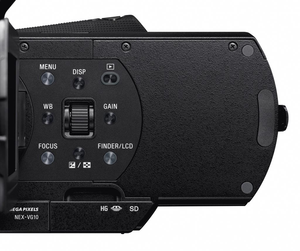 Sony's NEX -VG10 interchangeable lens HD camcorder