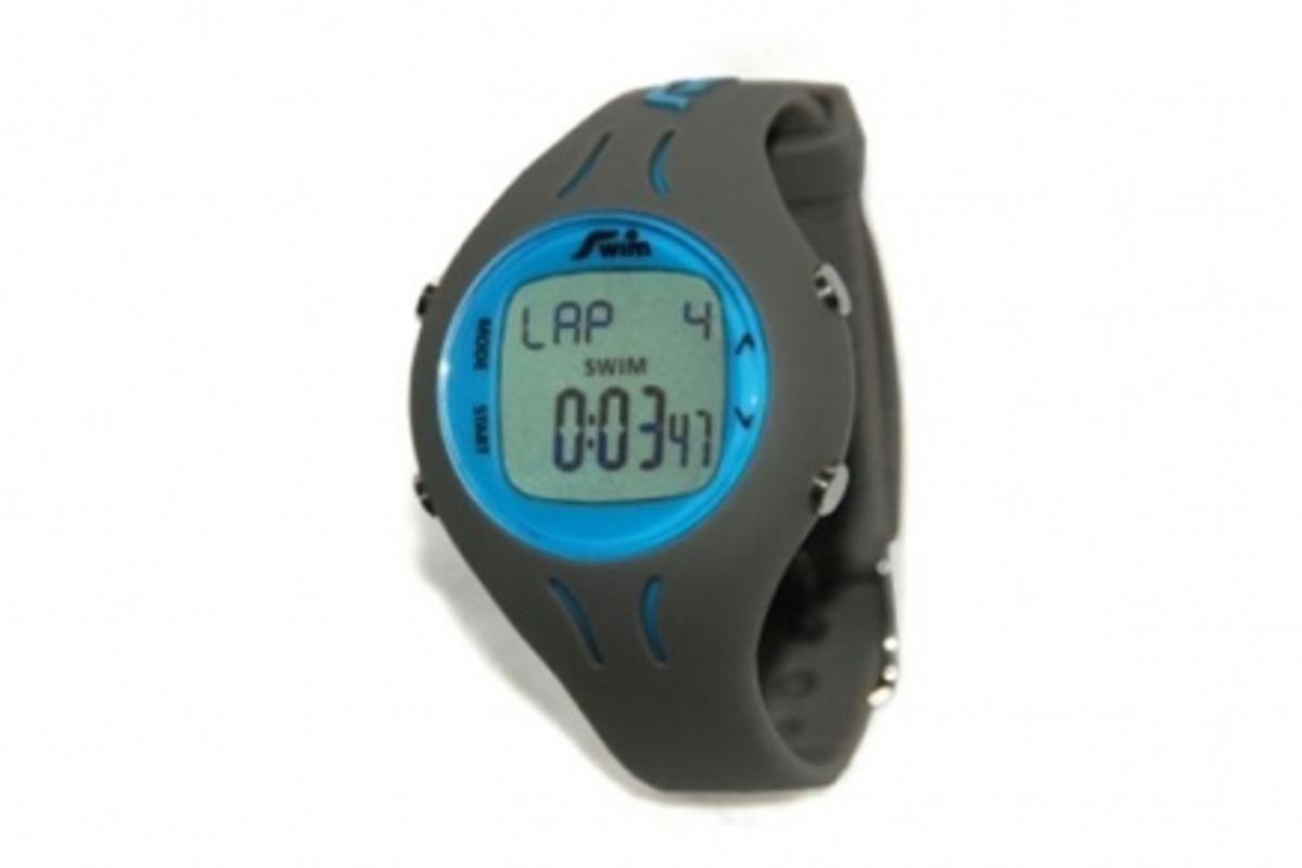 The Pool-Mate calculates the number of laps, average strokes per lap, speed, distance, calories and efficiency