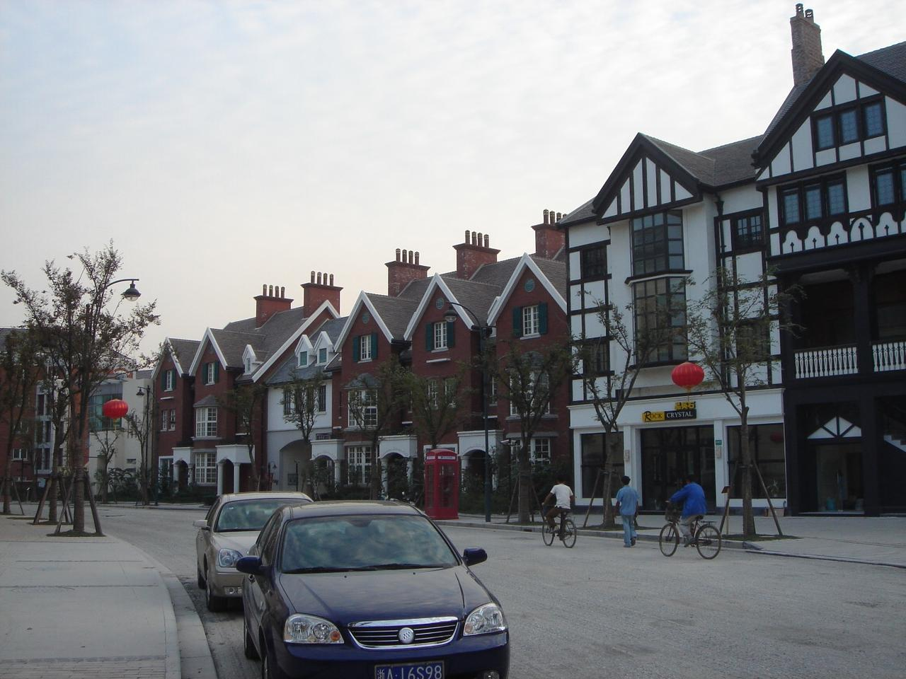 Thames Town is a little slice of England ... in Beijing