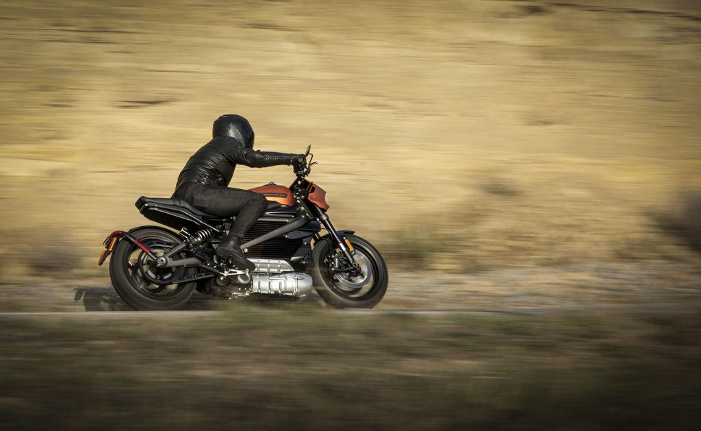2020 Harley-Davidson Livewire: looks like one of the best-handling Harleys ever