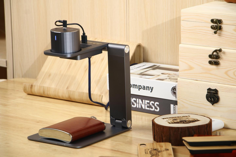 The LaserPecker Pro is presently on Kickstarter
