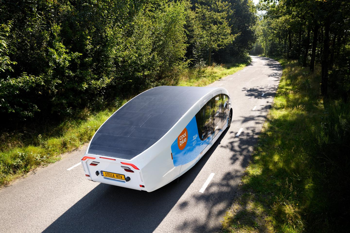 The student team will embark on a 3,000-km road trip from Eindhoven to southern Spain on September 19