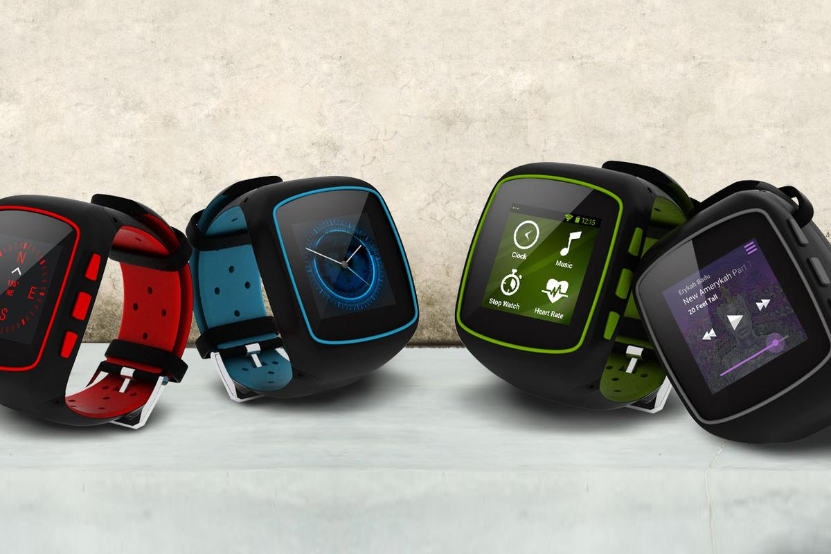 The WearIT smartwatch is aimed at sports and outdoors users