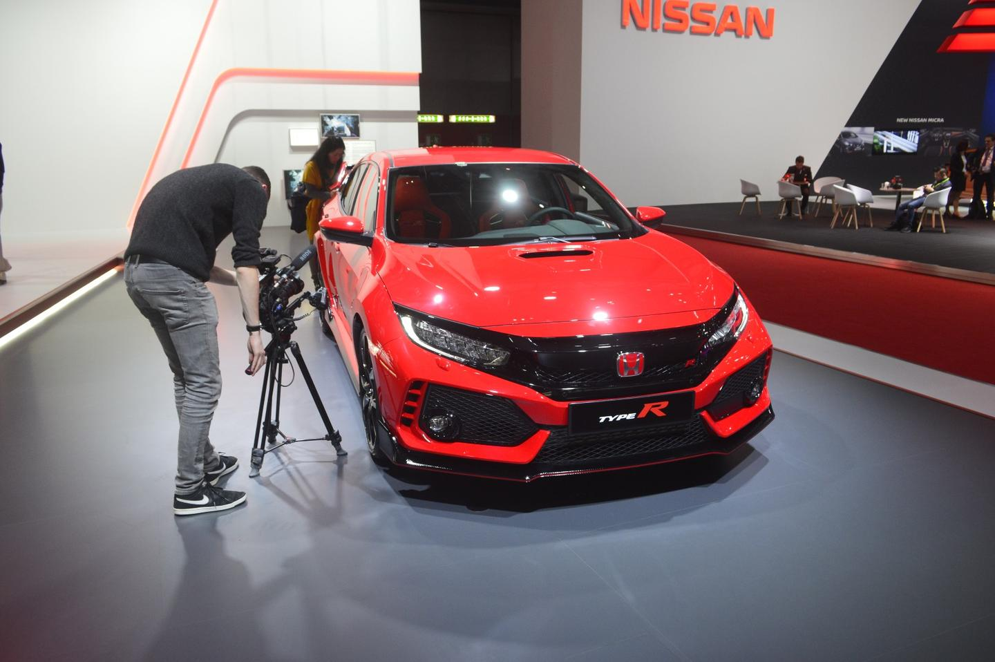 The 2017 Honda Civic R made its debut at the Geneva Motor Show