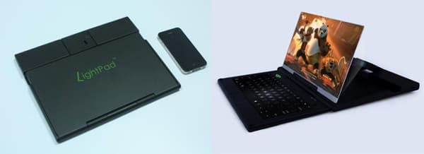 The LightPad from QP Optoelectronics will debut at CES 2012