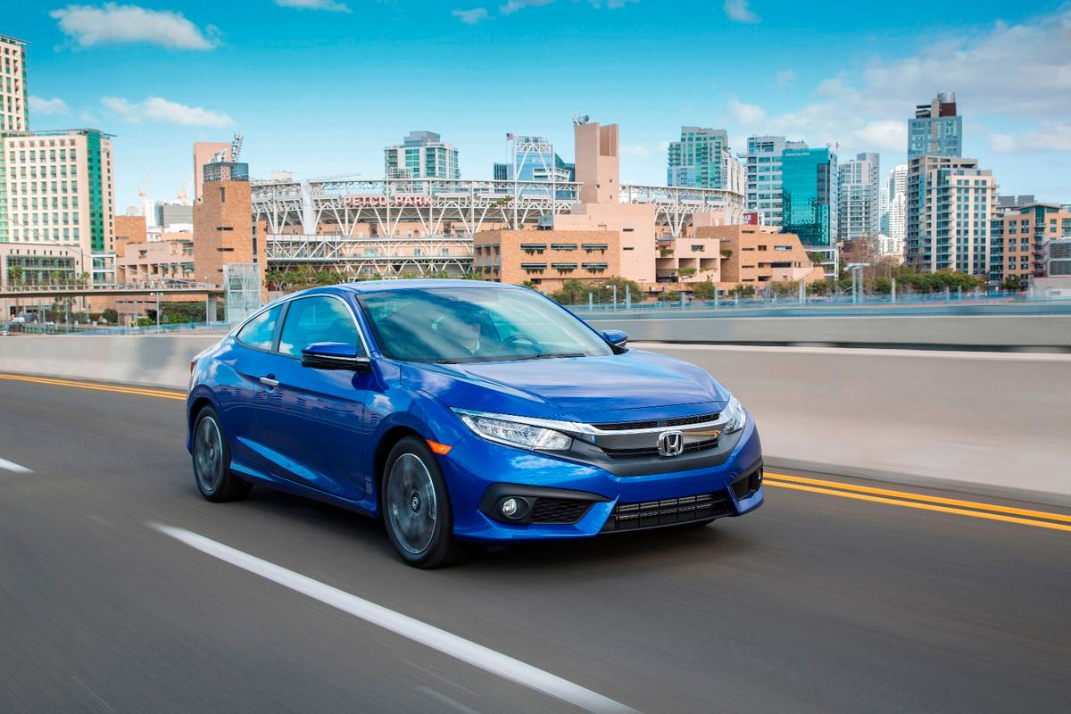 The new Honda Civic Coupe is a more powerful and comfortable version of its predecessor