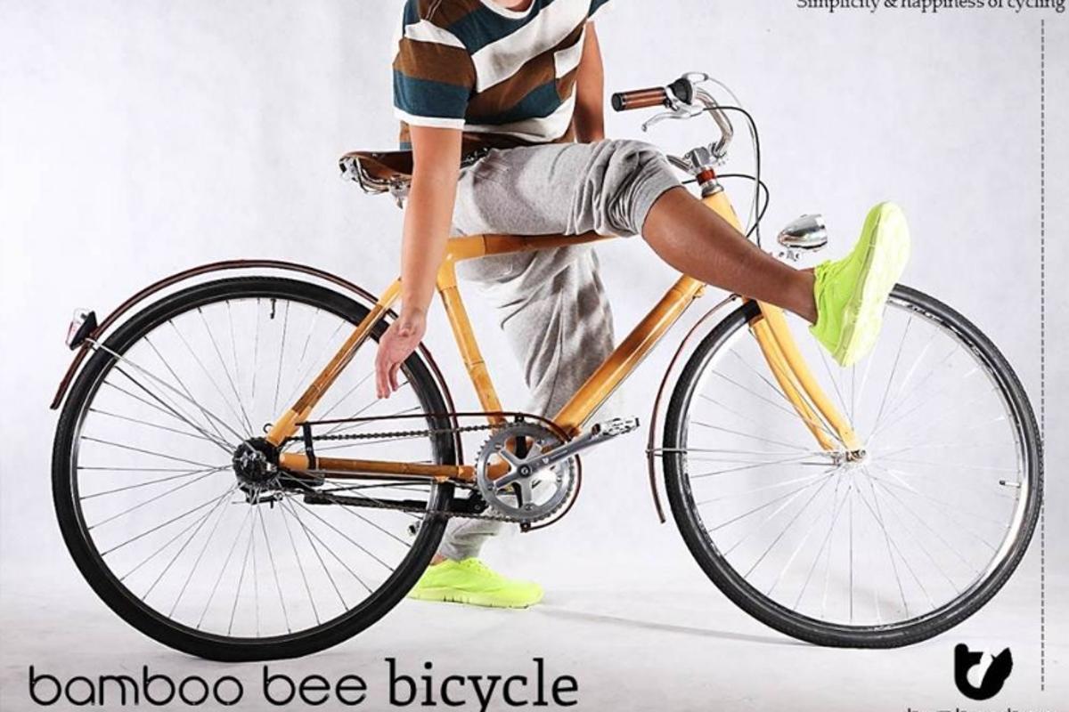 Bamboo bee hopes to make a mass-produced bamboo bike feasible