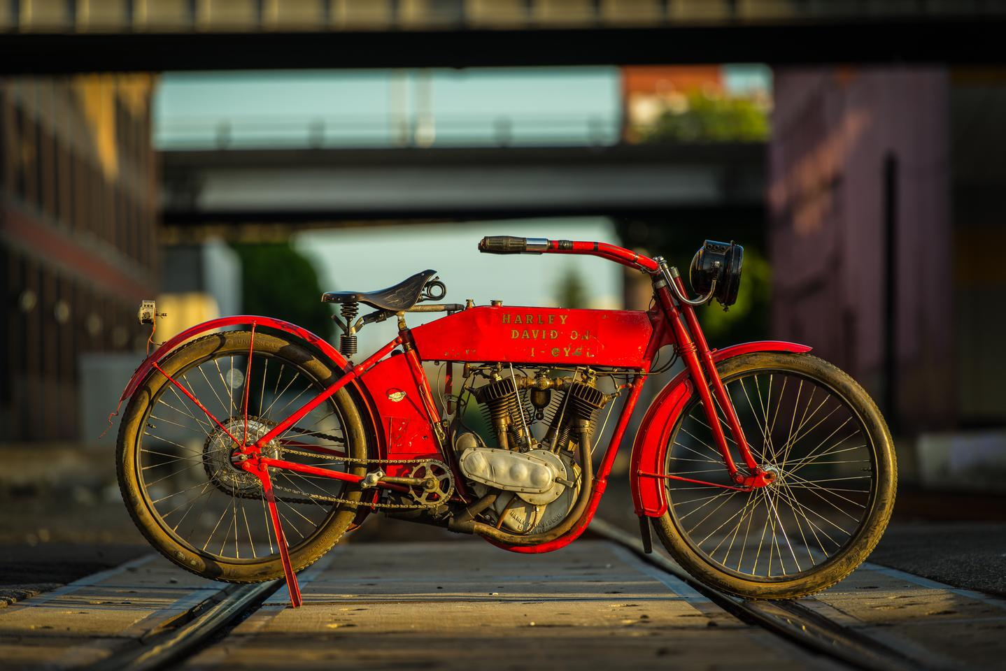 This ex-McQueen matching-numbers 1912 Harley-Davidson X8E Big Twin was purchased at the 1984 Steve McQueen estate auction and comes with a certificate of authenticity. It is believed that McQueen rode this Harley in at least one Pre-1916 event.